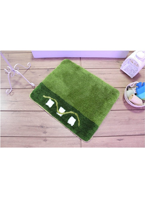 Chilai Home Banyo Paspası Yeşil